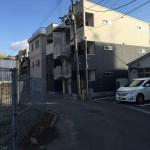 東中本木造3階建共同住宅6戸  H.27.2.3竣工