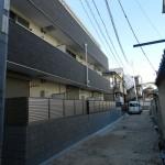 ノイヴェル出屋敷(木造3階建て共同住宅9戸)H28.3.19竣工