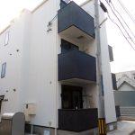 東大阪市上小阪(木造3階建共同住宅9戸)H30.1.30竣工