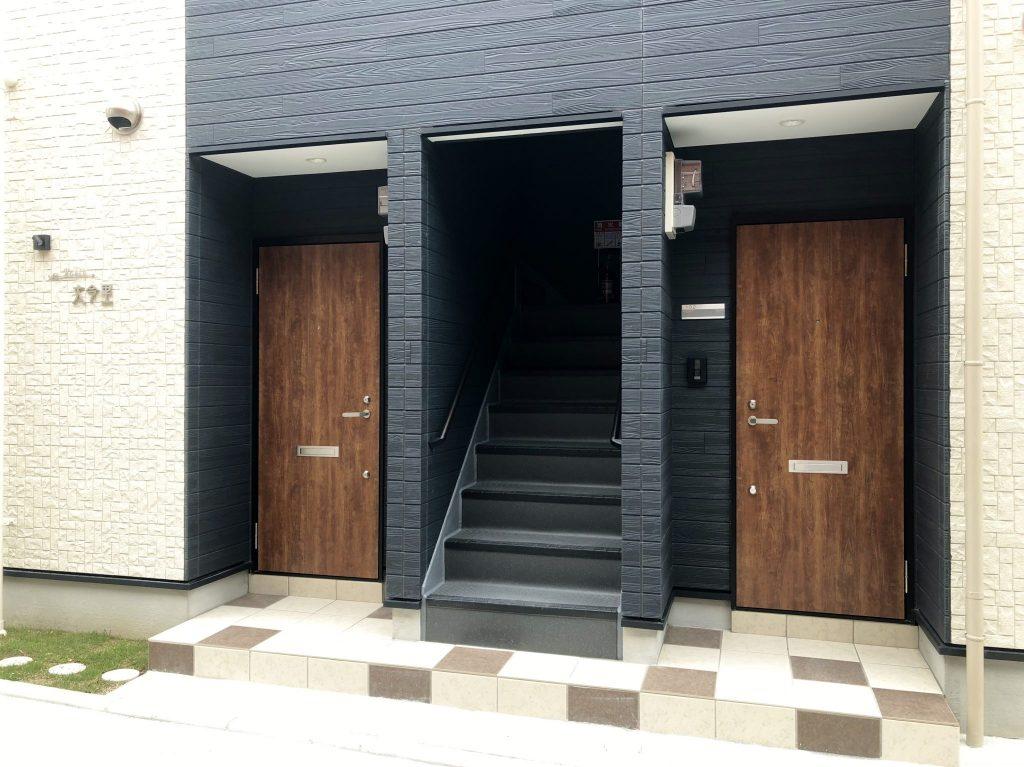 東成区大今里(木造2階建共同住宅4戸)H30.9.30竣工