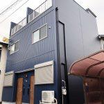 西淀川区福町(木造2階建長屋共同住宅ロフト付2戸)H30.12.24竣工