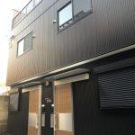 此花区西九条(木造2階建長屋共同住宅ロフト付2戸)H30.12.28竣工