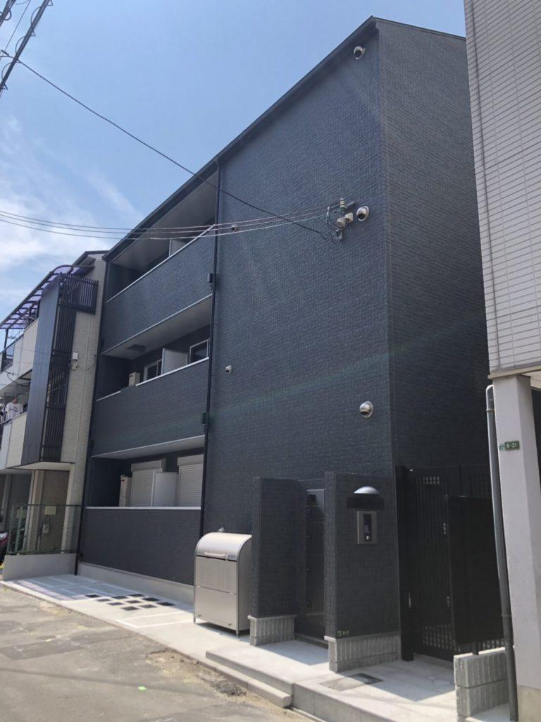 此花区春日出中(木造3階建共同住宅ロフト付9戸)R1.7.20竣工