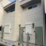 此花区春日出南(木造2階建長屋共同住宅ロフト付3戸)R1.8.31竣工