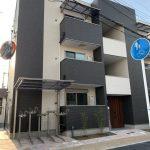 泉佐野市高松北(木造3階建共同住宅9戸2棟)R1.10.31竣工