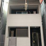 淀川区十三元今里(木造3階建共同住宅6戸)R2.1.31竣工