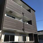 東大阪市宝持(木造3階建共同住宅6戸)R1.12.14竣工