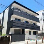 東淀川区瑞光(木造3階建共同住宅8戸+店舗)R2.4.30竣工