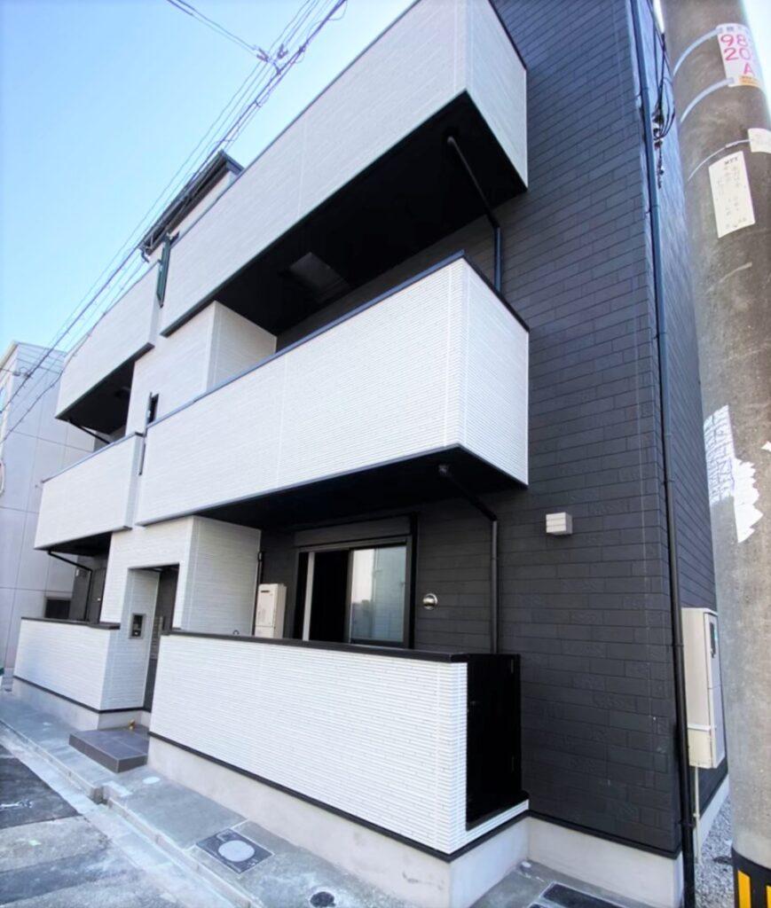 此花区朝日(木造3階建共同住宅6戸)R3.4.30竣工
